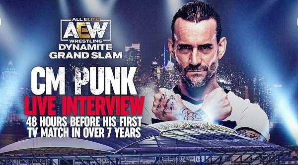 AEW Dynamite: Grand Slam Live 9/22/21