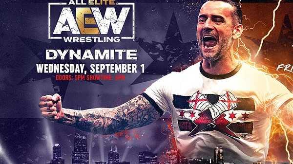 AEW Dynamite Live 9/1/21