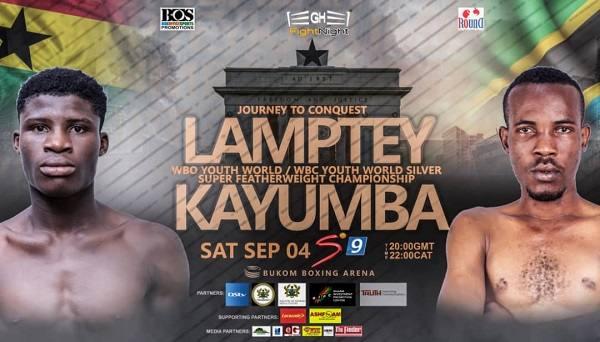 Boxing Alfred Lamptey vs Iddi Kayumba 9/4/21