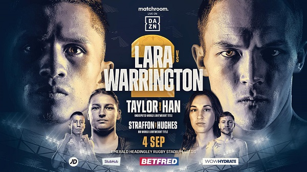 Watch Lara vs Warrington 2 II 9/4/21