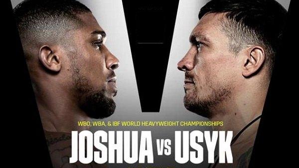 Joshua Vs Usky Boxing 9/25/21