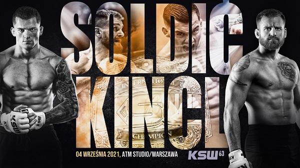 Watch KSW 63: Soldic vs. Kincl 9/4/21