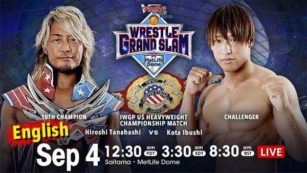 Watch NJPW WRESTLE GRAND SLAM 9/4/21 2021