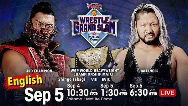 Watch Njpw Wrestle Grand Slam in Tokyo Dome 2021 Day 2 9/5/21
