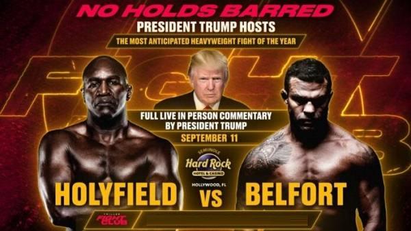 Triller Fight Club III : Evander Holyfield vs Belfort 9/11/21