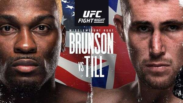 UFCVegas36: Brunson vs. Till Full Fight Replay
