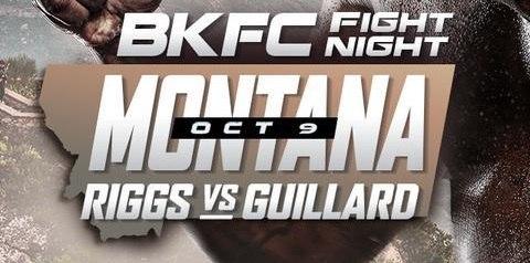 Watch BKFC Fight Night Riggs Vs Guillard 10/9/21 9th October 2021 Online Full Show Free