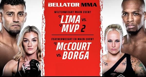 Bellator 267 Lima Vs MvP 2 10/1/21