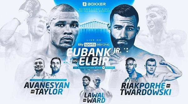 Watch Eubank Jr v Muratov 10/2/21 2nd October 2021 Online Full Show Free