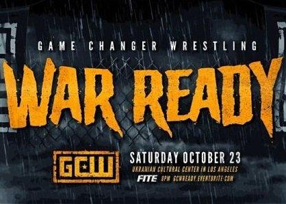 GCW War Ready 10/23/21