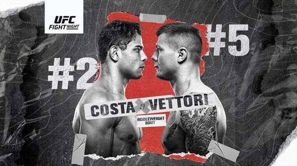 UFC FN: Costa vs. Vettori 10/23/21