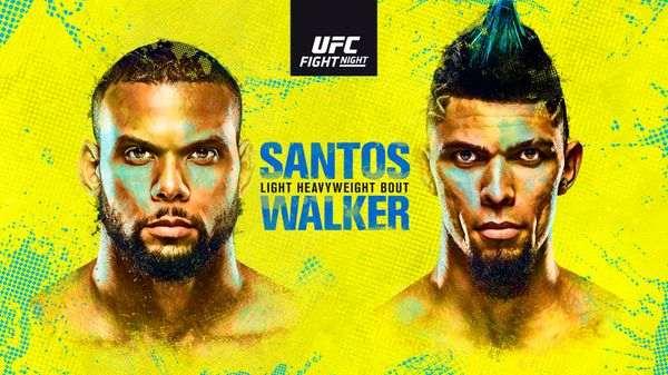 UFCVegas38: Santosh vs. Walker Full Fight Replay