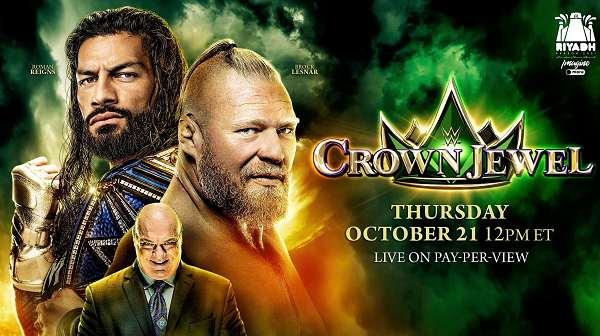 WWE Crown Jewel 2021 PPV 10/21/21