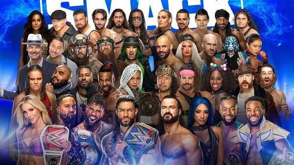 WWE Smackdown Live 10/22/21