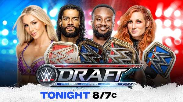 WWE Smackdown Live Draft 2021 Day 1 10/1/21